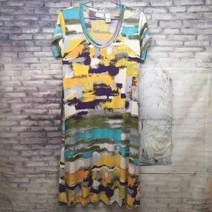 Kim Rogers T Shirt Dress Size S